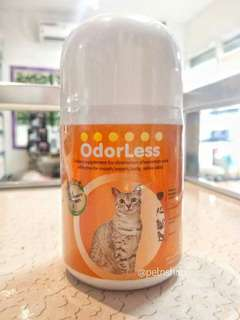 100 tabs Odorless for Cats - eliminates odor