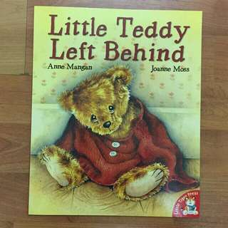 Terry Bear Left Behind Picture Book