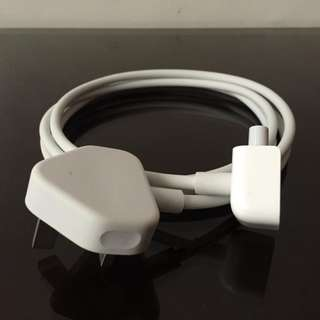 Genuine 3-prong extension cord adaptor MacBook MagSafe power adapter