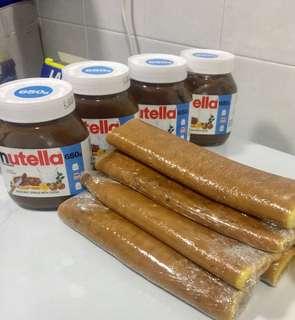 Tapak Kuda Nutella ( Horse Shoe Nutella )