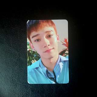 EXO-CBX Blooming Day CHEN photocard