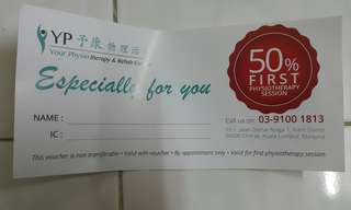 Your Physiotherapy Voucher