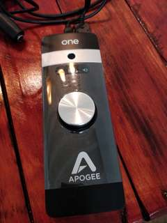 Apogee one audio interface for sale
