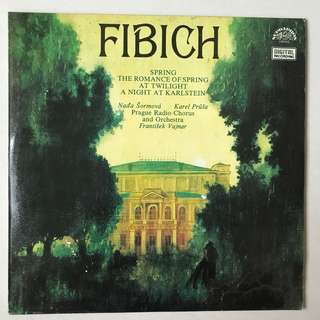 Fibich The Romance of Spring SUPRAPHON 11103405