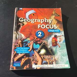 Geography Focus 2 Textbook