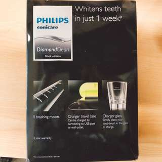 Phillip diamond electronic toothbrush