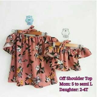M&D Off shoulder top