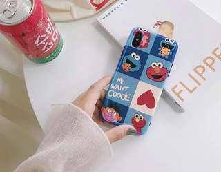 免郵2018新品潮流可愛卡通手機殼iPhone case