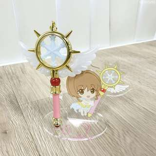 PREORDER: Cardcaptor Sakura: Clear Card - Sakura's Strap Pen C (Dream Wand)