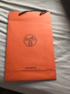 Hermes Paper Bag medium