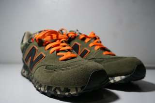 New Balance Green Army Orange Size 9
