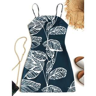 PRE ORDER Printed knotted Cut Out Dress