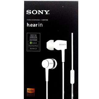 🚚 全新入耳式耳機 sony ex750 耳道式