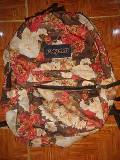 JANSPORT Floral BAG BACKT-TO-SCHOOL