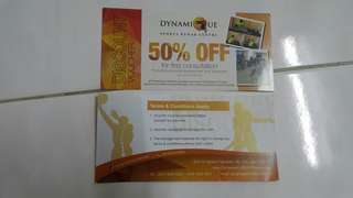 Physiotherapy Discount Voucher