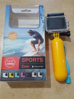 Sports Cam Action Camera 30m Waterproof
