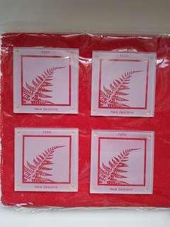 NZ Classic Fern Coasters Set