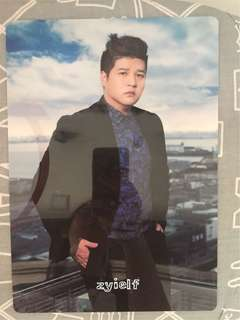 Shindong Blue World Official B3 Card