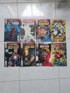 Marvel Comics  Invincible Iron Man 593 to 600 Near Mint Condition