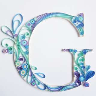 (Workshop) Paper Typography/Quilling