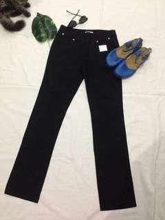 Black Slacks size 27