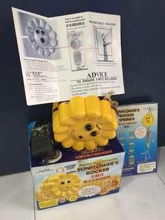 Sunflower's rocker electrical spring