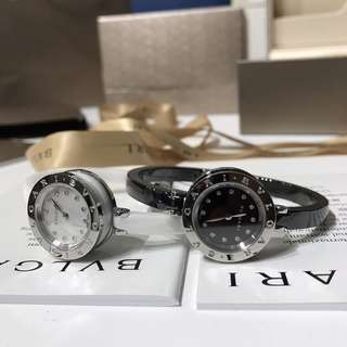Bvlgari 2018年最新款真鑽陶瓷手錶