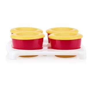 Nuby Storage Freezer Pots with Tray