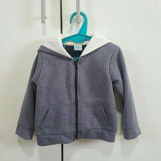 Crib Couture Gray Hoodie