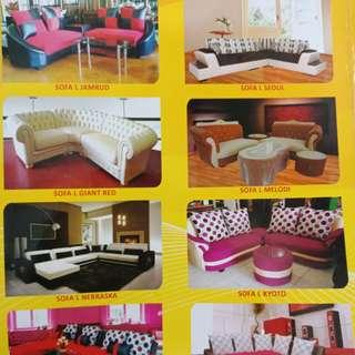 Sofa Ruang Tamu . Furniture . kredit tanpa kartu kredit
