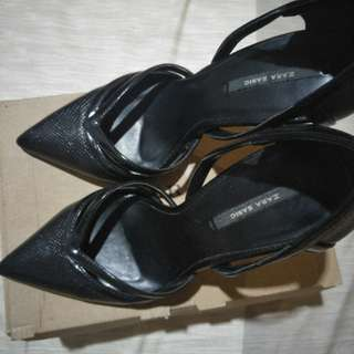 ZARA Black High Heels (7cm)