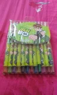 Crayons ben 10
