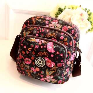 🌸BRANDNEW🌸 Korean Layered Zipper Sling/Shoulder/Cross Bag