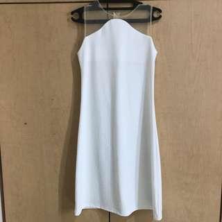 white dress top new