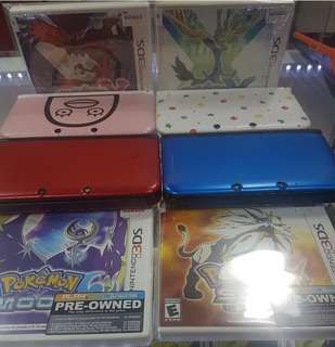 3DSXL + 1 GAMES OF CHOICE