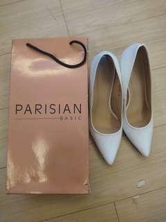 Parisian White Shoes