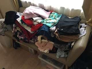 清屋大掃除 wardrobe offload clearance ...
