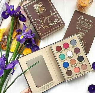 Wizardry & Witchcraft Eyeshadow Palette Book