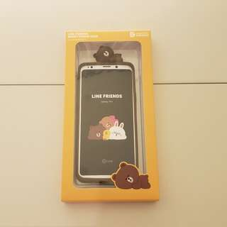 Samsung Galaxy S9+ LINE FRIENDS 立體矽膠背蓋