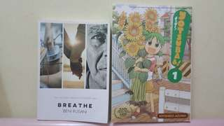 Breath by Beni (sold) and Yotsuba by Kiyohiko (still available)