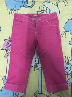 United Colors of Benetton Pink jeans