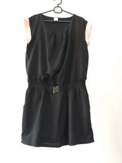 Black dress w/ pink lining