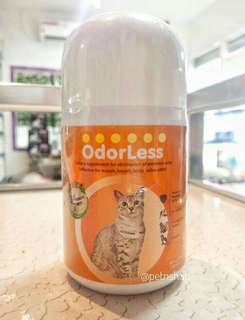 Odorless for Cat -eliminates odor