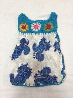 Dress baby bali - 6-9bulan