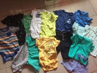 Preloved baby boy clothes
