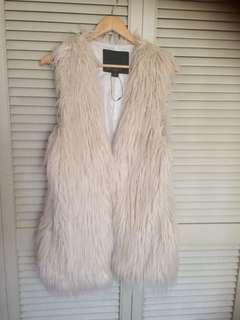 (NEW) Wish faux fur vest