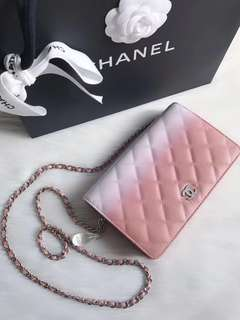Chanel SS18 Wallet On Chain (Just look at the price without looking at quality.Please bypass,Tq)