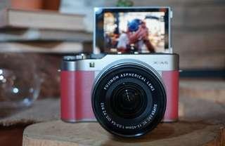 New Fujifilm X-A5 Kredit Tanpa DP Proses 3 Menit!! Mall Cijantung