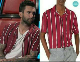 Brand new Imported Vertical Stripes Button Down Polo