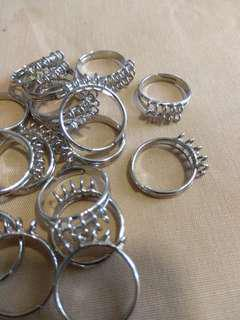 20 pieces Stainless steel ring